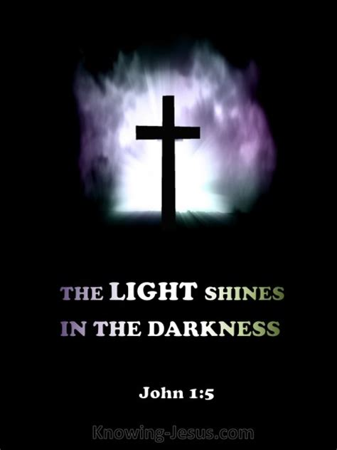 the light shines in the darkness john 1 5 verse of the day