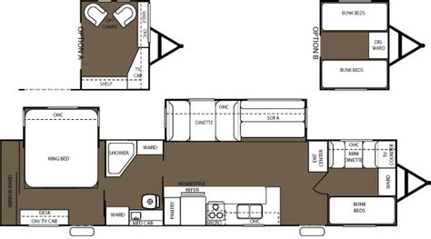 sierra rv floor plans 2006 forest river sierra west travel trailer rvweb com