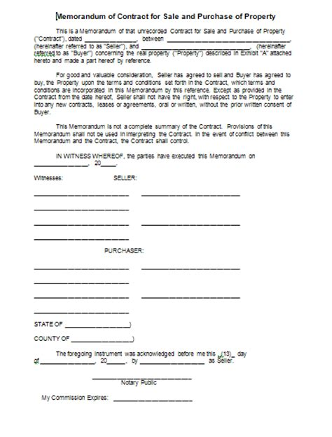 property sales contract template sale agreement form free printable documents