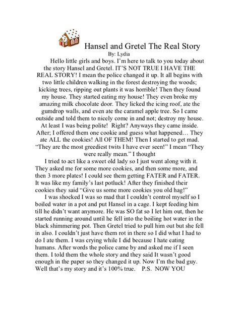 Hello Hansel N Gretel hansel and gretel the real story