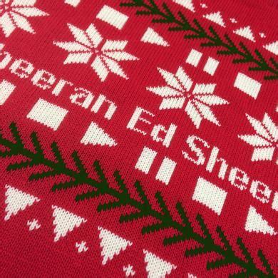 ed sheeran xmas jumper ugly holiday sweaters more