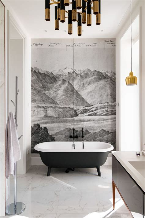 bathroom wall mural ideas peenmedia