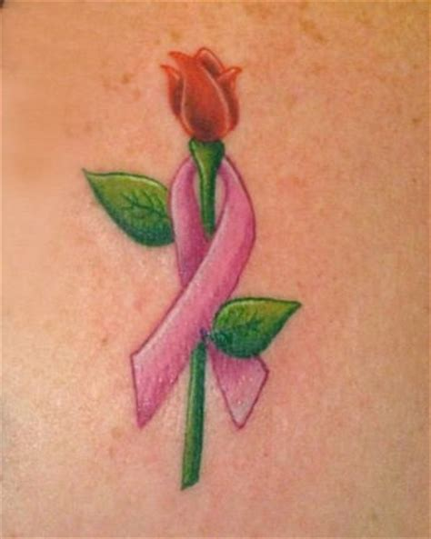 rose with ribbon tattoo designs ribbon