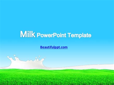 powerpoint themes slideshare free powerpoint template milk