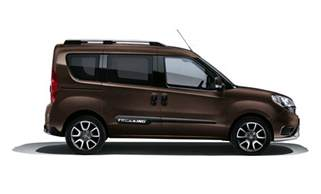 Fiat Doblo Fiat Dobl 242 Trekking Previewed Ahead Of Geneva Debut