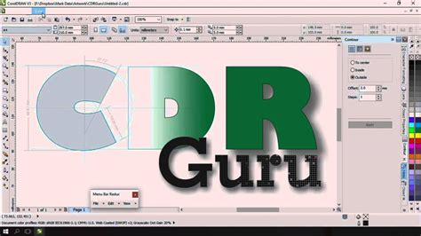 corel draw x5 torrenty org corel draw x5 hidden menu bar on windows 10 youtube