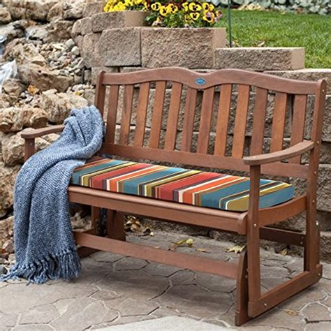 retro glider bench top 15 for best porch swing wood 2018