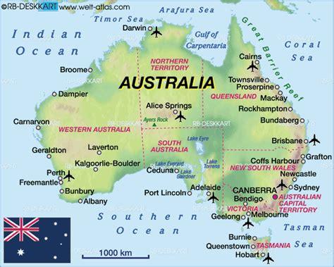 the map of australia map of australia map in the atlas of the world world atlas