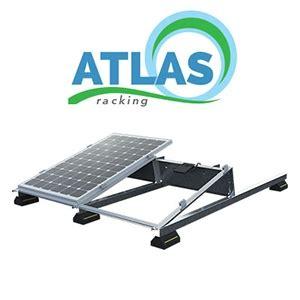 atlas flat roof ballast | solar racking