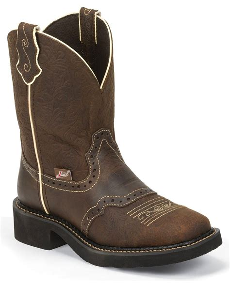womens justin boots clearance justin s embossed western boots boot barn