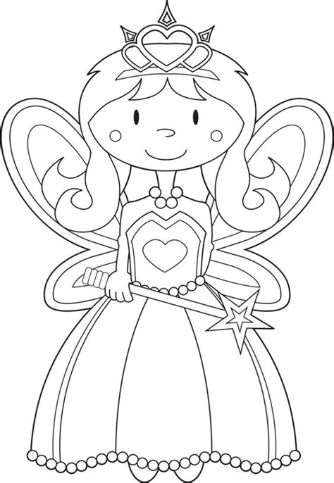 fairy princess coloring pages omaľov 225 nky pinterest
