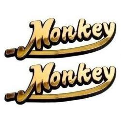 Aufkleber Honda Monkey by Stickers Monkey Gold Motorkit