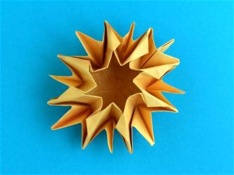 Origami Sunflower Step By Step - joost langeveld origami page