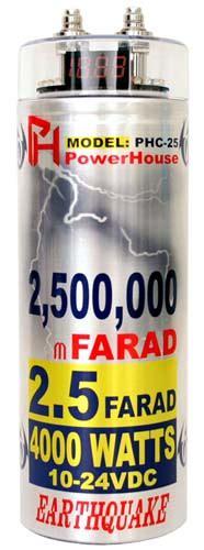 2 5 farad capacitor earthquake phc 25 2 5 farad power stiffening capacitor