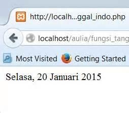 format tanggal php mengganti format tanggal menjadi bahasa indonesia