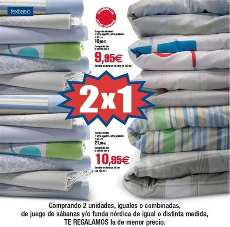oferta 2x1 en s 225 banas en carrefour x4duros - Edredones Lidl