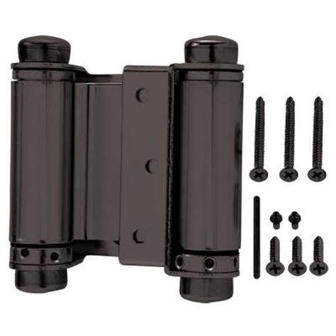 swinging door hinge installation everbilt 3 in x 3 in oil rubbed bronze double action