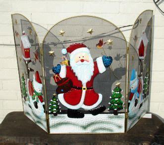 decorative screen santa or snowman 39 99