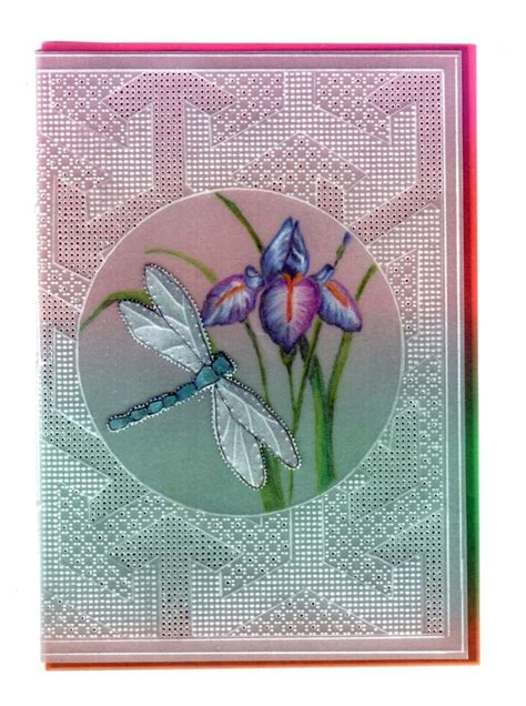 iris card patterns purple iris card pattern no 29 cards card