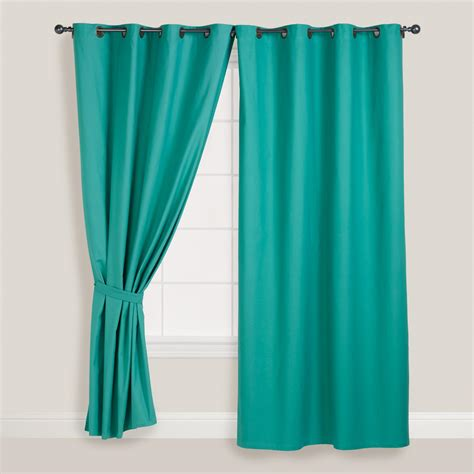 green draperies beryl green parker grommet top curtain world market