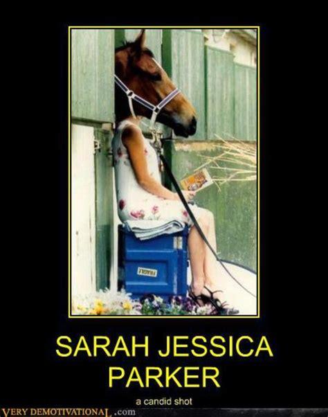 Sarah Jessica Parker Meme - image 127762 sarah jessica parker looks like a horse
