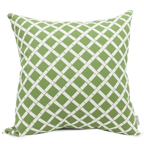 decorative pillows home goods shop majestic home goods sage bamboo geometric square