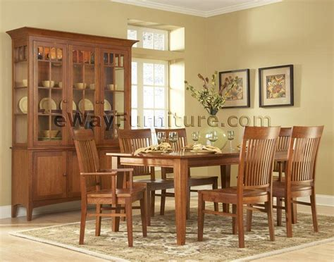 cherry dining room set solid cherry dining room set