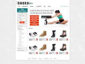 Free Ecommerce Templates For Shopping Cart Free Shopping Cart Website Template Online Store