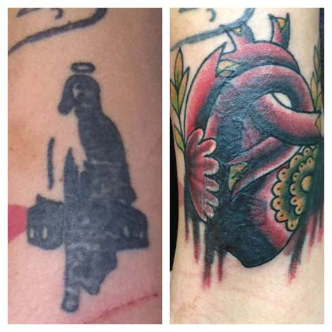 drinking before tattoo before and after cover up original resulted from a