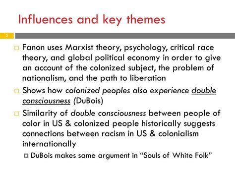 themes of marxist literature ppt franz fanon the wretched of the earth powerpoint