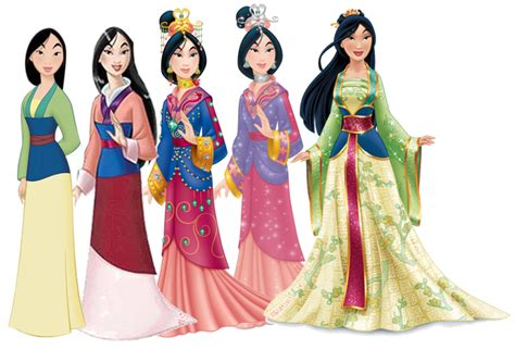 Mulan Dress mulan dress evolution disney princess photo 35224471