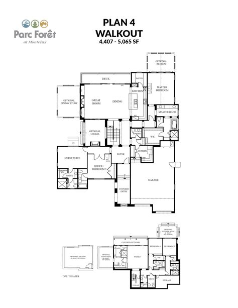 5 bedroom floor plans with basement 100 5 bedroom floor plans with basement 4 bedroom
