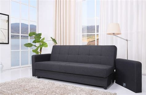 jensen sofa bed leader lifestyle jensen sofa bed with storage in charcoal