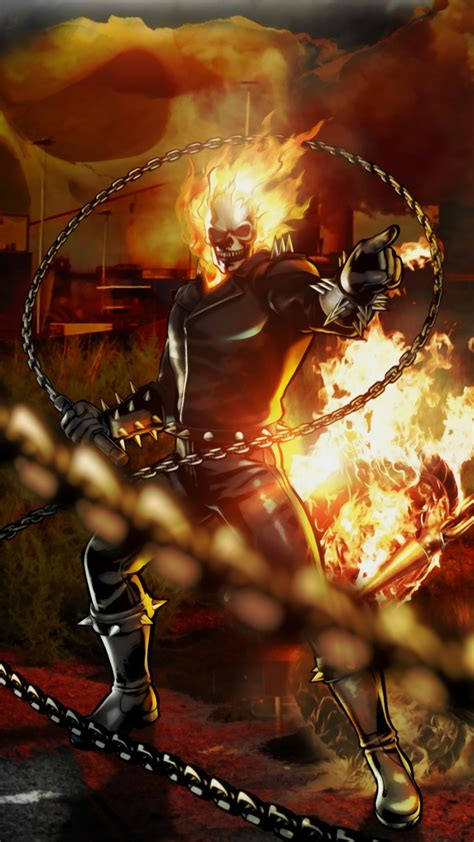 marvel vs dc galaxy s5 wallpaper 1080x1920 ghost rider bike wallpapers 61 pictures