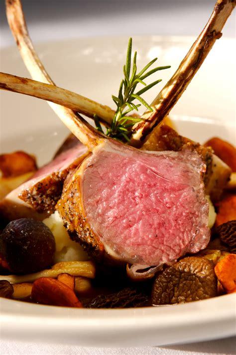 rack of lamb basic roasted rack of lamb recipe dishmaps
