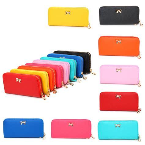 Dompet Pria Wanita Clutch Kulit Handbag Korea Import Baellerry Ave1956 dompet genggam korean bowknot purse clutches handbag