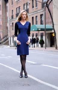 what color tights to wear with navy dress e black and blue dress fashion dress best style