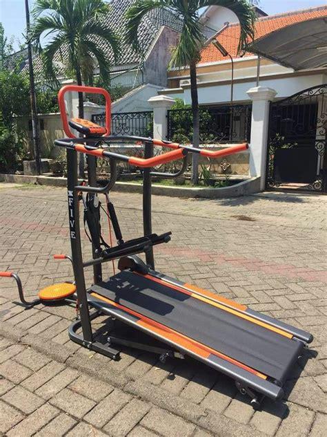 Treadmill Elektrik Venice Mb 2 Fungsi jual treadmill manual 5 fungsi terbaru