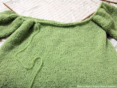 how to knit raglan how to knit a raglan sleeve sweater 12 steps with pictures