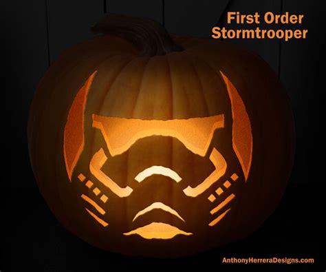 star wars pumpkin carving patterns geekologie