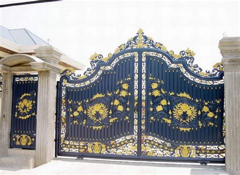 designs of iron gates for houses home iron gate design home gate design home landscaping