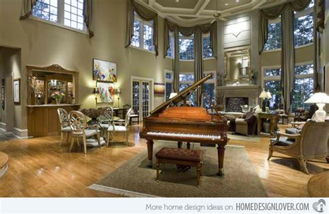 The Sater Design Collection 15 grand piano set ups in traditional living rooms fox