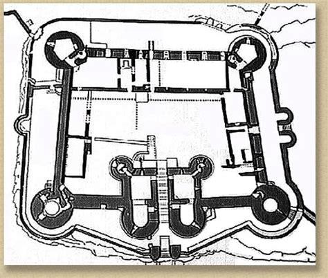 harlech castle floor plan harlech castle