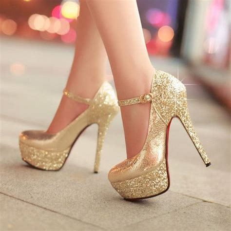 Lobo Glossy White Pointed Toe High Heels Import gold heels heels heels golden shoes and gold heels