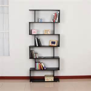 Bookshelves Shopping Wooden S Shape Storage Bookcase Ideal Home Show Shop