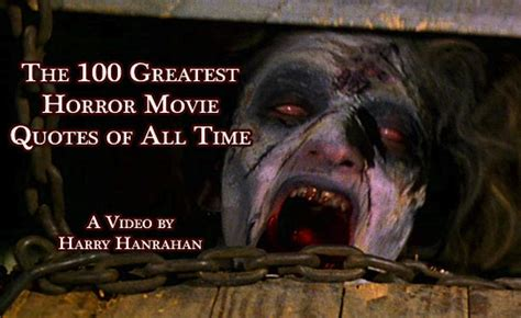 ghost film phrases quotes from horror movies