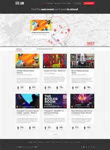 Event Design Template by Events Listing Website Design Ui Ux
