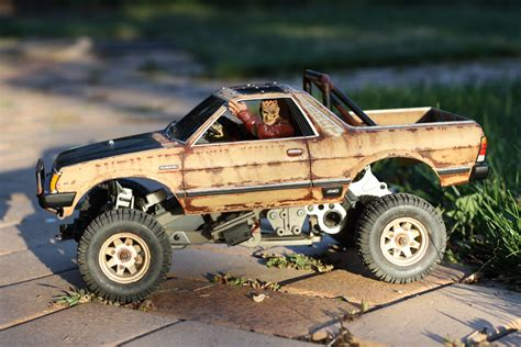 Tamiya Subaru Brat R C Body Paint Job Great Rc Paint