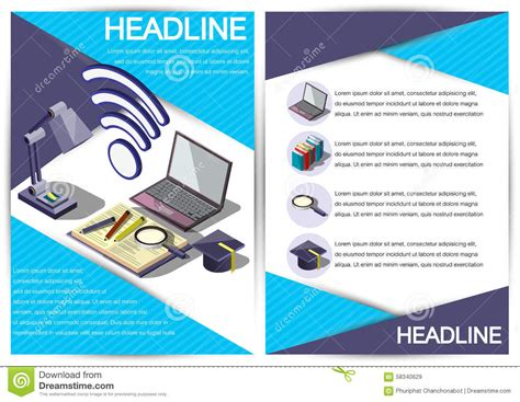 creative report templates creative report template flyer brochure vector paper