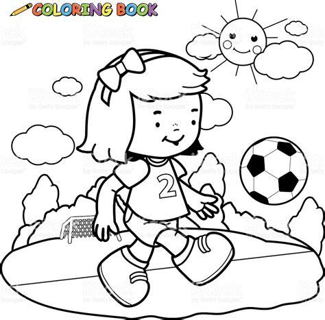 imagenes de niños jugando futbol para dibujar ni 241 a para colorear p 225 gina jugador de f 250 tbol arte
